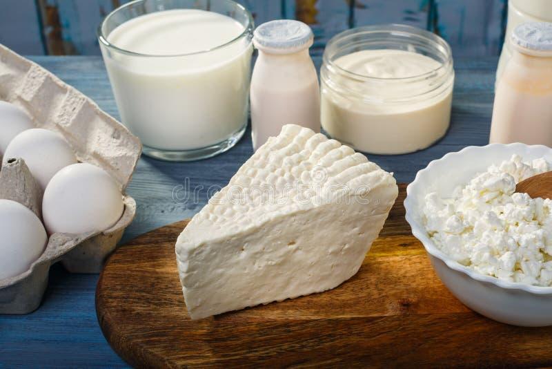 Αγροτικά γαλακτοκομικά προϊόντα στοκ εικόνα με δικαίωμα ελεύθερης χρήσης