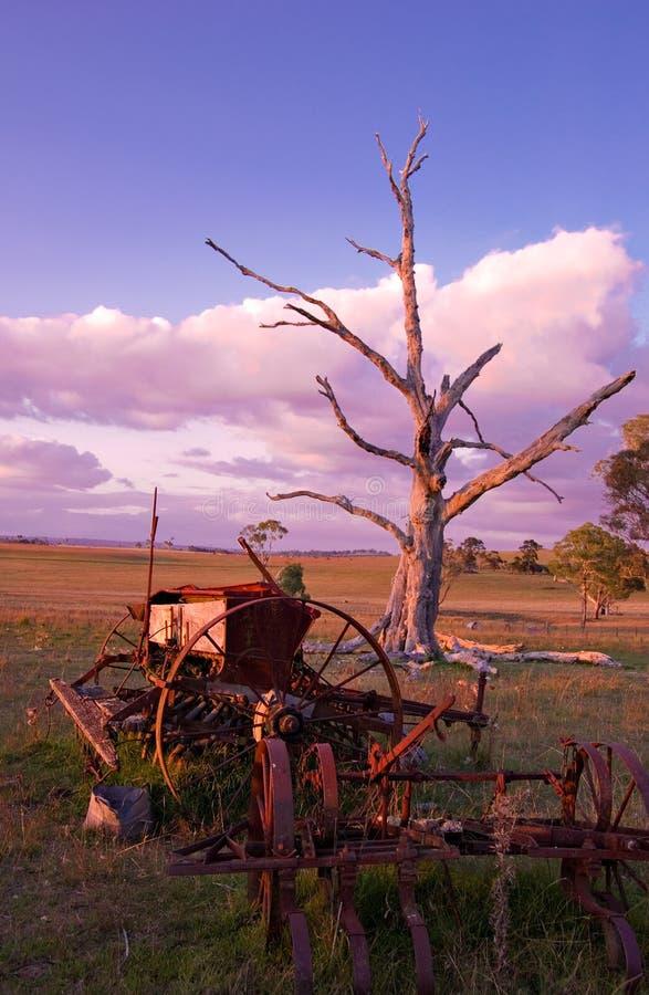αγροτικά μηχανήματα παλαι στοκ εικόνες με δικαίωμα ελεύθερης χρήσης