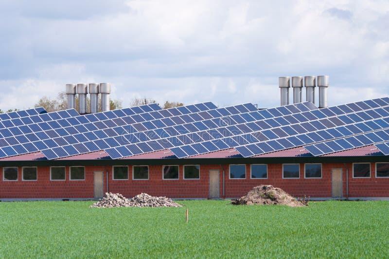 αγροτικές επιτροπές ηλιακές στοκ φωτογραφία