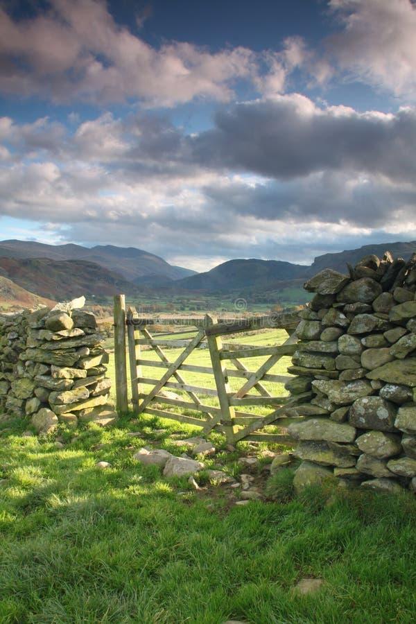 Αγροτικές πύλες στοκ εικόνες