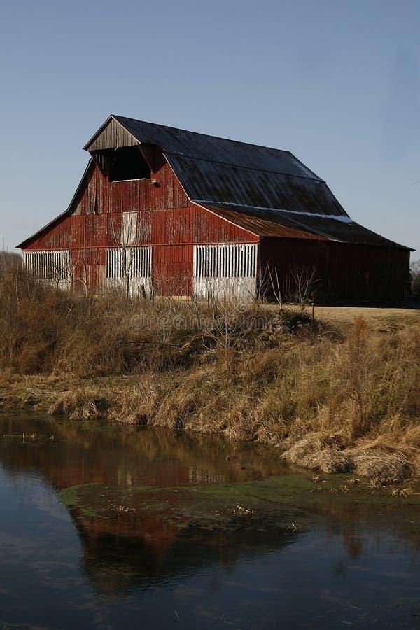 αγροτικές σκηνές Tennessee στοκ εικόνες