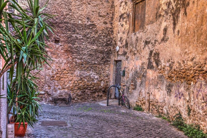 Αγροτική γωνία σε Trastevere στοκ εικόνες