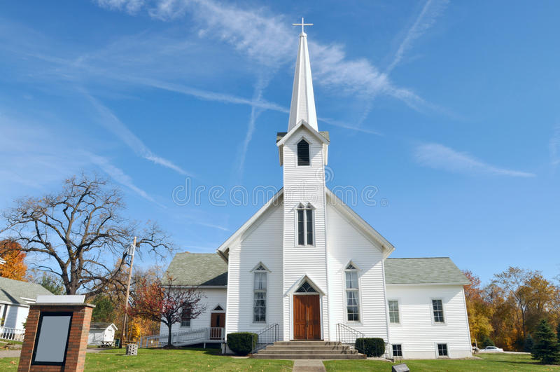 Αγροτική εκκλησία στοκ φωτογραφίες