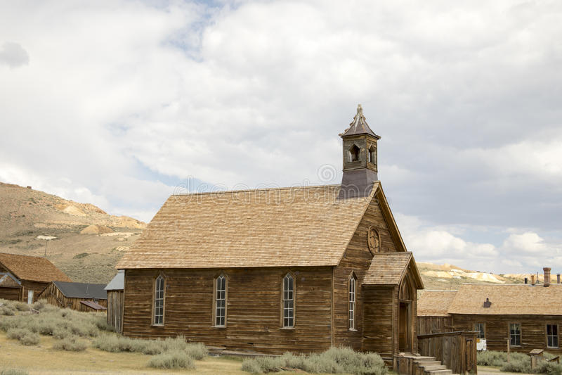 Αγροτική μεθοδιστής εκκλησία στοκ φωτογραφία