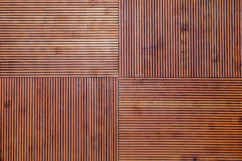 Αγροτική σύσταση μπαμπού Οριζόντιες και κάθετες γραμμές στοκ φωτογραφίες με δικαίωμα ελεύθερης χρήσης