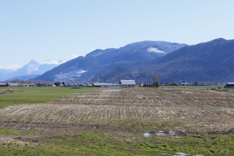 αγροτικός αγροτικός χειμώνας στοκ φωτογραφίες
