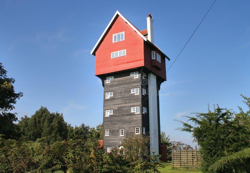 αγροτικός πύργος σπιτιών της Αγγλίας στοκ φωτογραφία