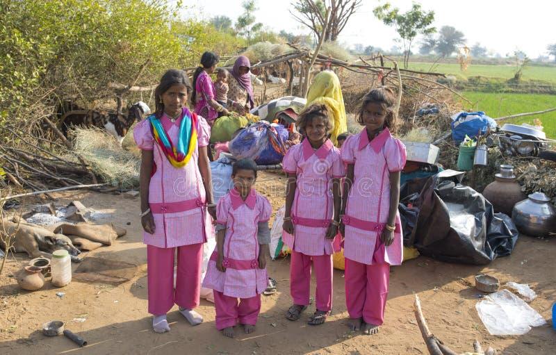 Αγροτικό κορίτσι στοκ φωτογραφία με δικαίωμα ελεύθερης χρήσης