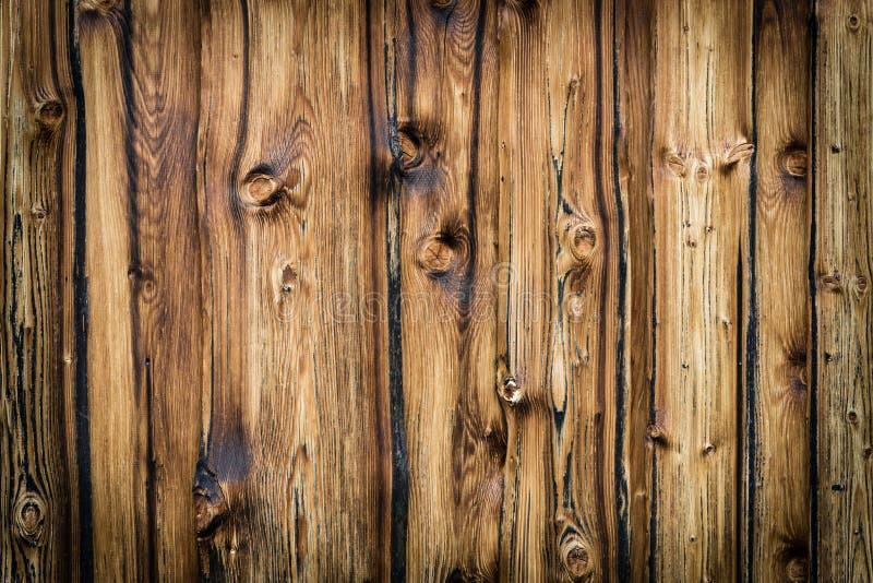 Αγροτικό ξύλινο υπόβαθρο σανίδων με συμπαθητικό vignetting στοκ εικόνες με δικαίωμα ελεύθερης χρήσης