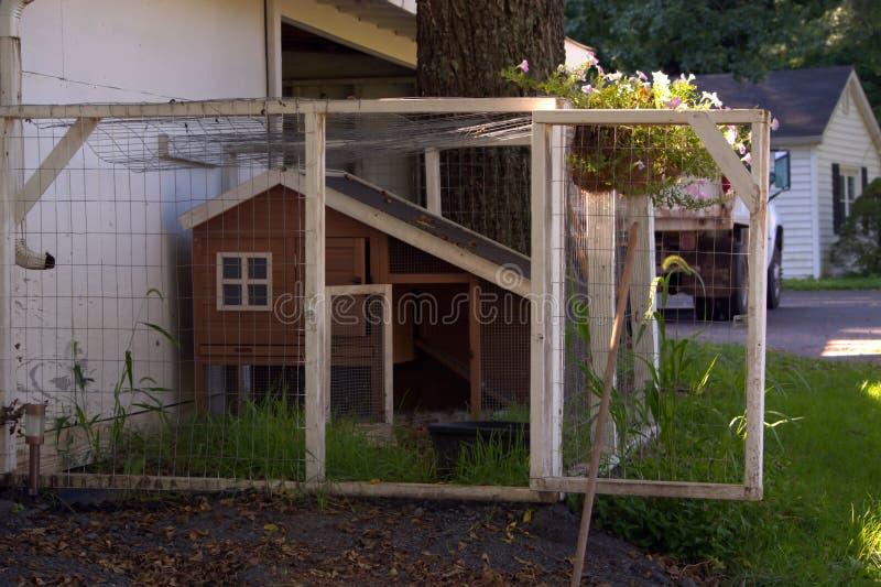 Αγροτικό σπίτι κοτών χώρας στοκ φωτογραφίες με δικαίωμα ελεύθερης χρήσης
