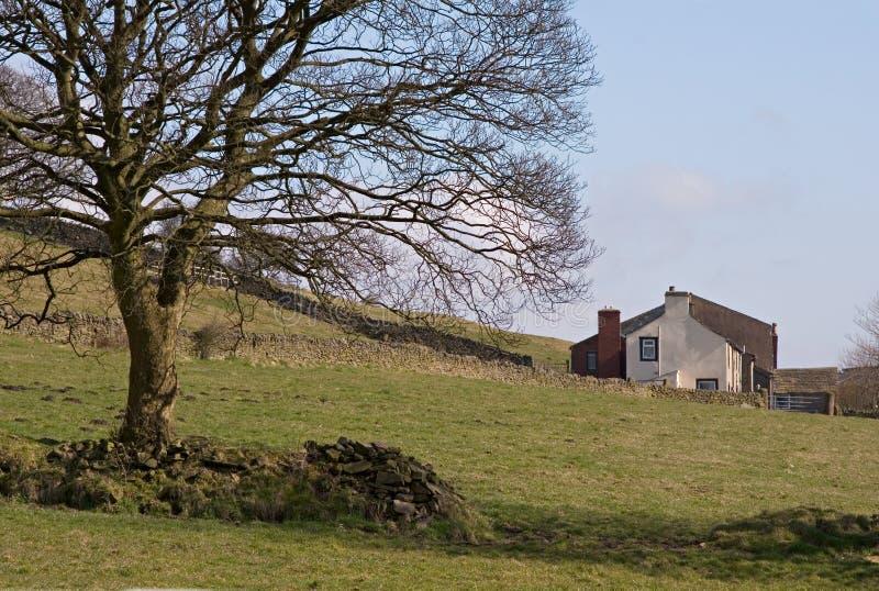 αγροτικό σπίτι στοκ εικόνα