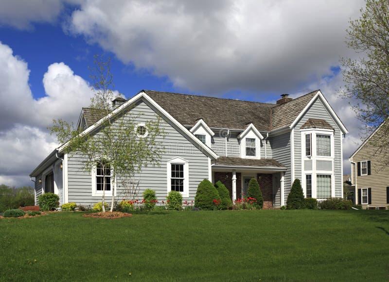 αγροτικό σπίτι upscale στοκ εικόνες με δικαίωμα ελεύθερης χρήσης