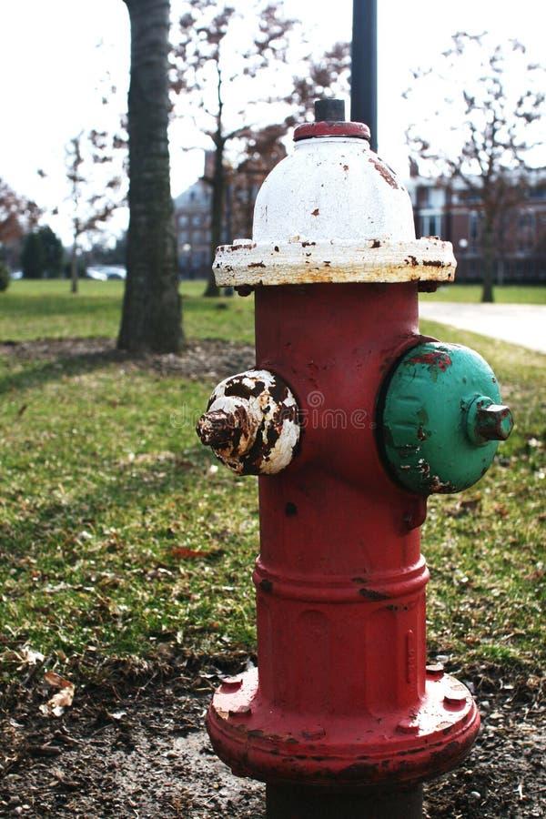 Αγροτικό στόμιο υδροληψίας πυρκαγιάς στοκ φωτογραφίες με δικαίωμα ελεύθερης χρήσης