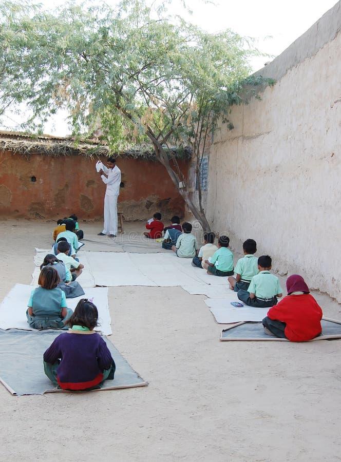Αγροτικό σχολείο στοκ εικόνα