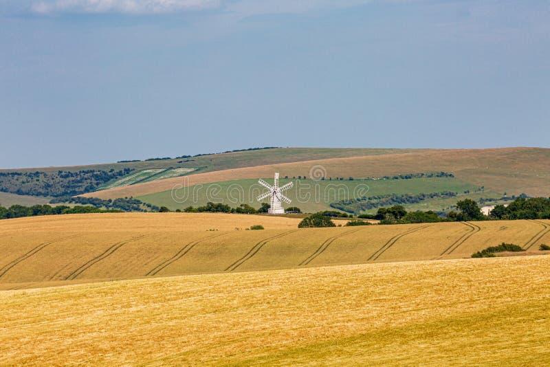 Αγροτικό τοπίο του Σάσσεξ στοκ φωτογραφία με δικαίωμα ελεύθερης χρήσης