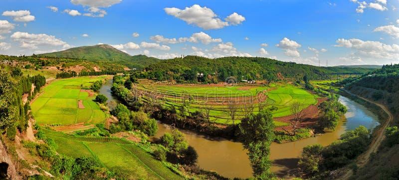 αγροτικό τοπίο στοκ εικόνα