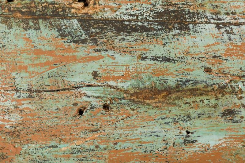 Αγροτικό υπόβαθρο με το χρώμα αποφλοίωσης στοκ φωτογραφία