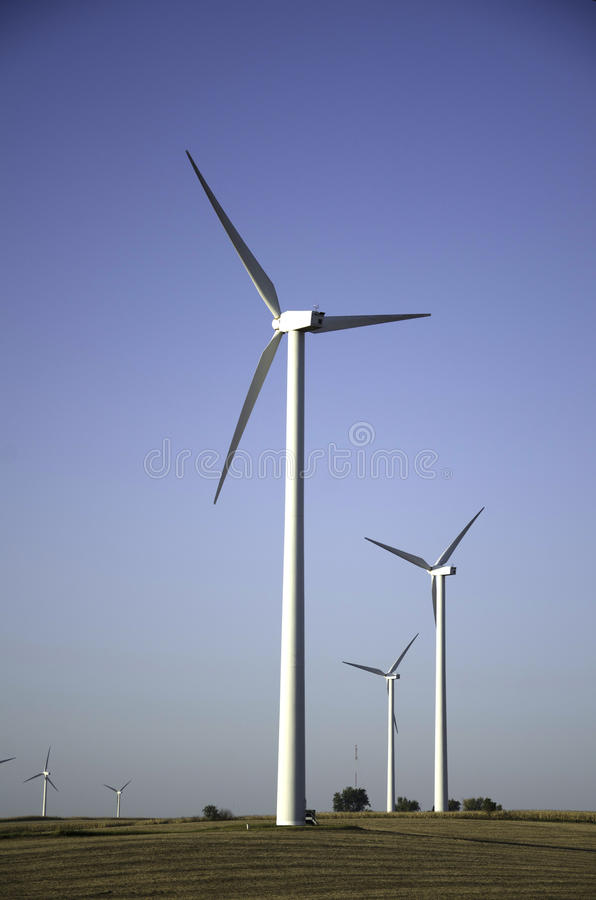 αγροτικό midwest αέρας στοκ φωτογραφία με δικαίωμα ελεύθερης χρήσης