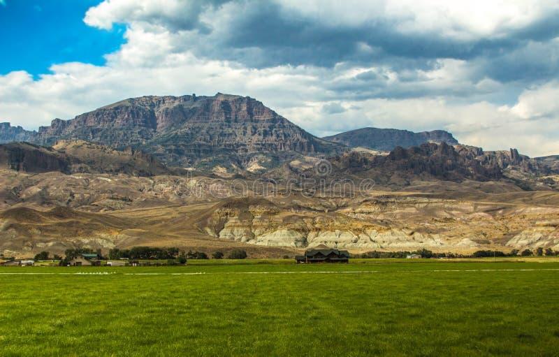 Αγρόκτημα στην ορεινή επαρχία στοκ εικόνες με δικαίωμα ελεύθερης χρήσης