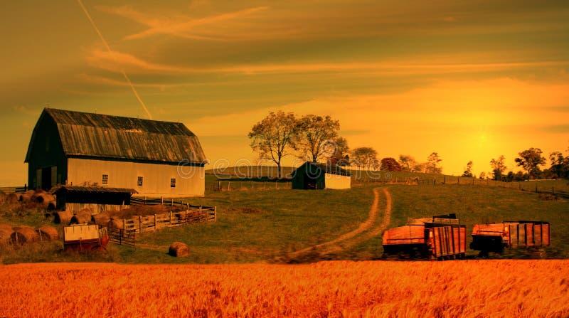 αγρόκτημα στοκ φωτογραφίες με δικαίωμα ελεύθερης χρήσης