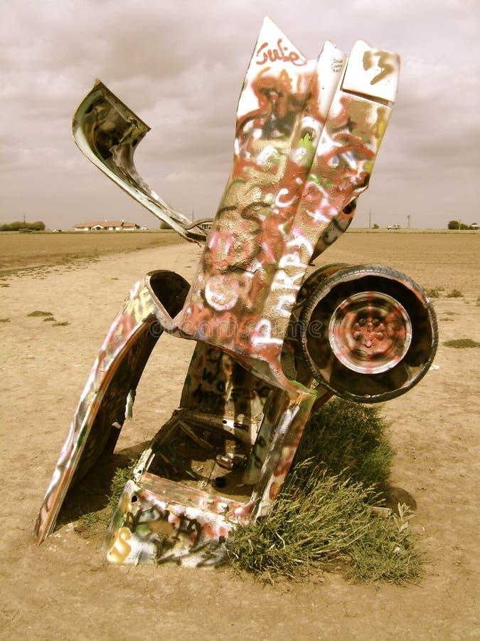 Αγρόκτημα Cadillac στοκ εικόνες