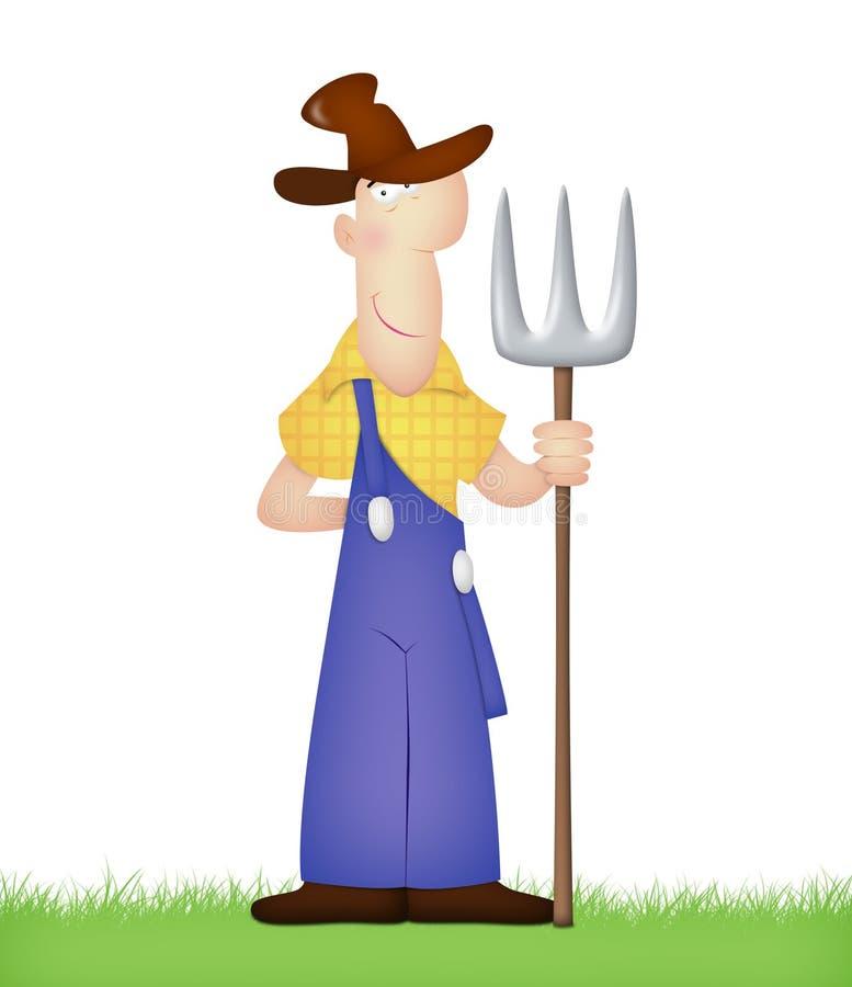 αγρότης απεικόνιση αποθεμάτων