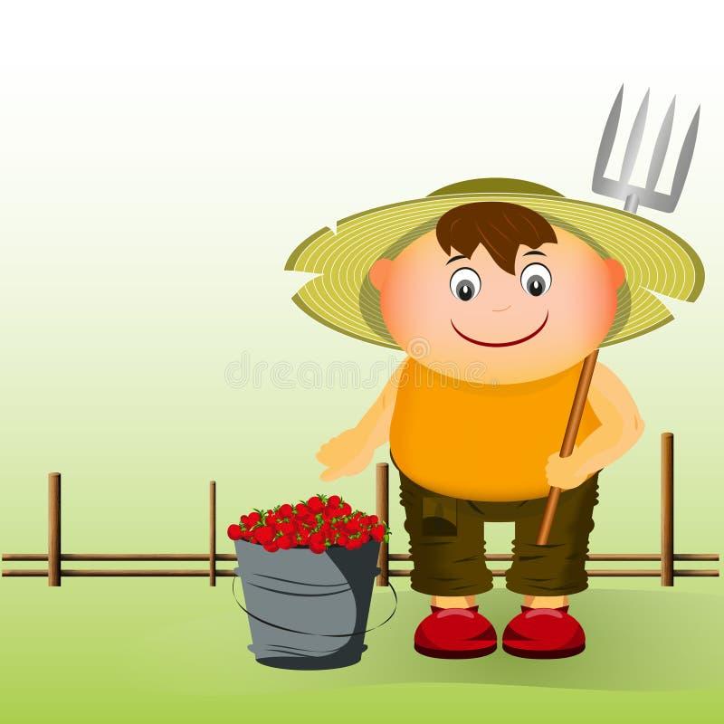 αγρότης ελεύθερη απεικόνιση δικαιώματος