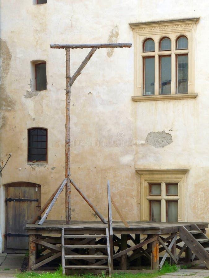 αγχόνες μεσαιωνικές στοκ εικόνα με δικαίωμα ελεύθερης χρήσης