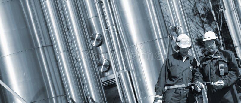 αγωγοί υγραερίου μηχανικών στοκ εικόνες