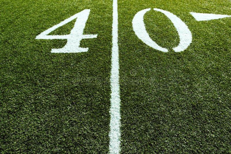 Αγωνιστικός χώρος ποδοσφαίρου στη γραμμή επίθεσης 40 στοκ φωτογραφία με δικαίωμα ελεύθερης χρήσης
