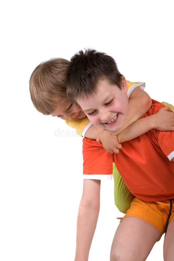αγόρια ευτυχή στοκ φωτογραφία με δικαίωμα ελεύθερης χρήσης
