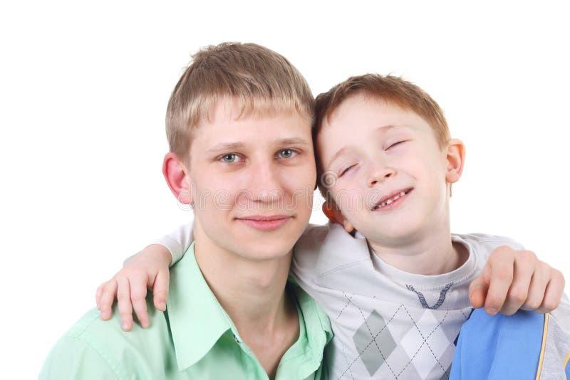 Αγόρια στοκ φωτογραφία