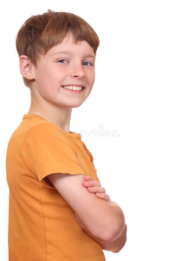 αγόρι βέβαιο στοκ εικόνες με δικαίωμα ελεύθερης χρήσης