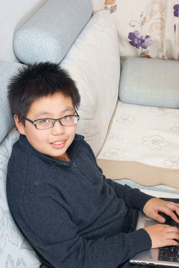 αγόρι κινέζικα στοκ φωτογραφίες