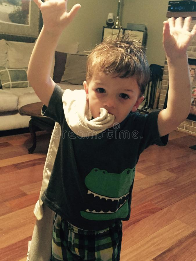 Αγόρι κροκοδείλων στοκ φωτογραφία με δικαίωμα ελεύθερης χρήσης