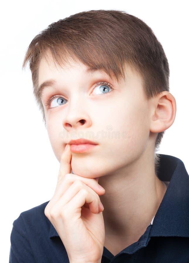 αγόρι που ανατρέχει στοκ εικόνα με δικαίωμα ελεύθερης χρήσης