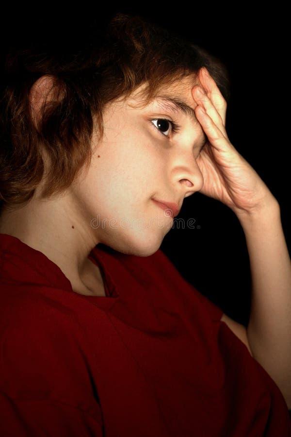 Download αγόρι που ανησυχείται στοκ εικόνες. εικόνα από κίνδυνος - 13176060