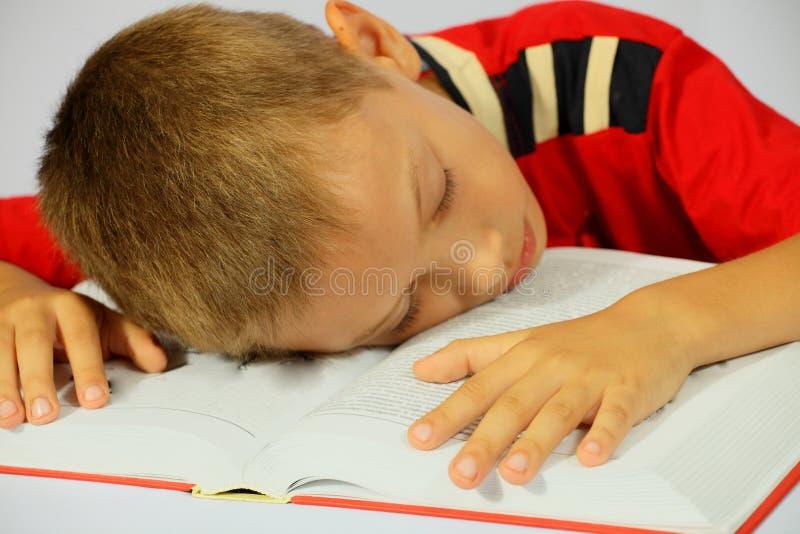 αγόρι που κουράζεται στοκ εικόνα