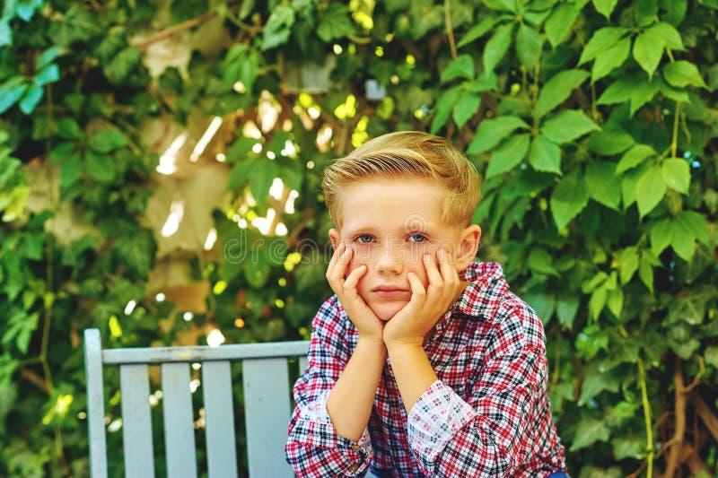 Αγόρι φωτογραφιών στοκ εικόνες