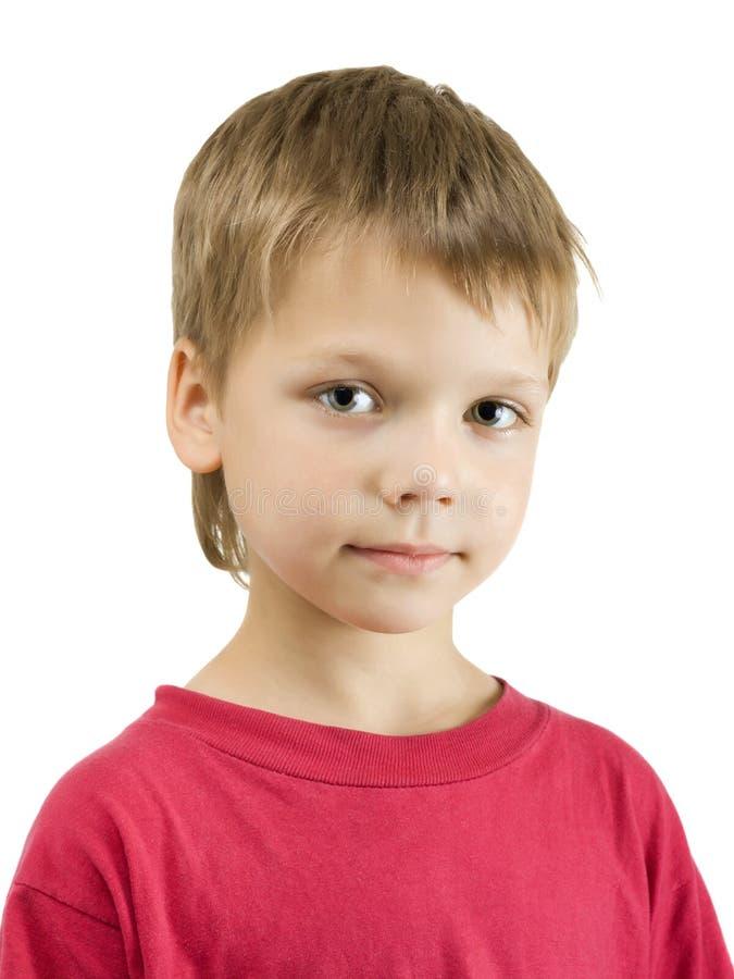 αγόρι χαριτωμένο πέρα από το &la στοκ φωτογραφία
