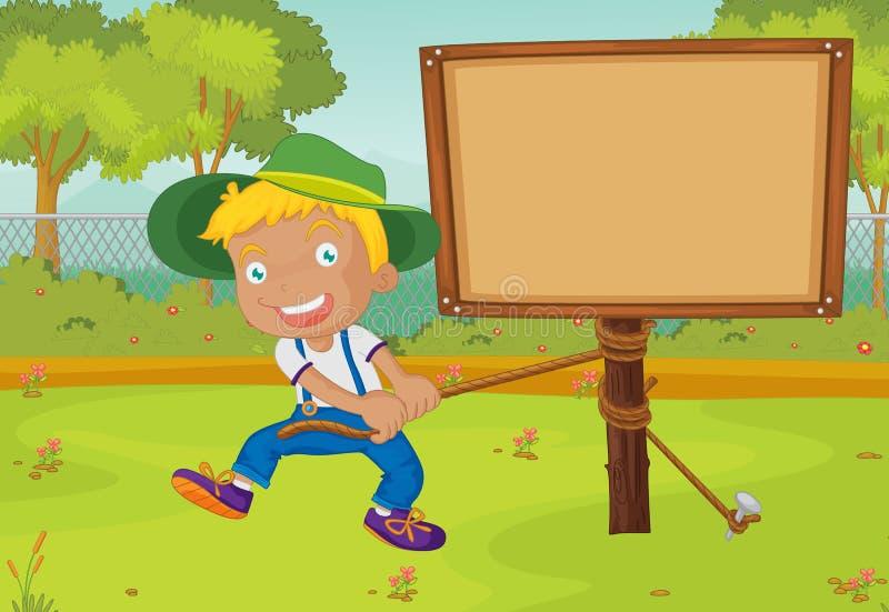 αγόρι διανυσματική απεικόνιση