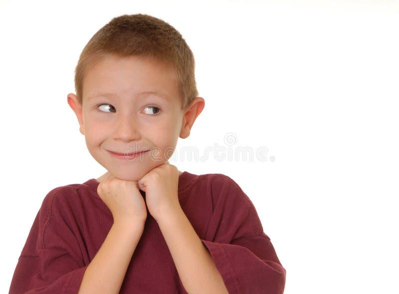αγόρι 6 δραματικό στοκ εικόνες