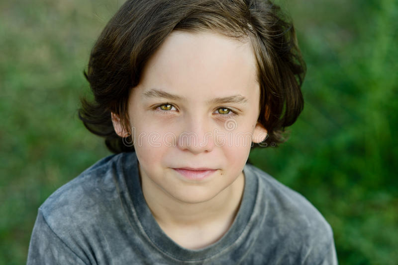 Αγόρι Preteen στοκ φωτογραφία με δικαίωμα ελεύθερης χρήσης