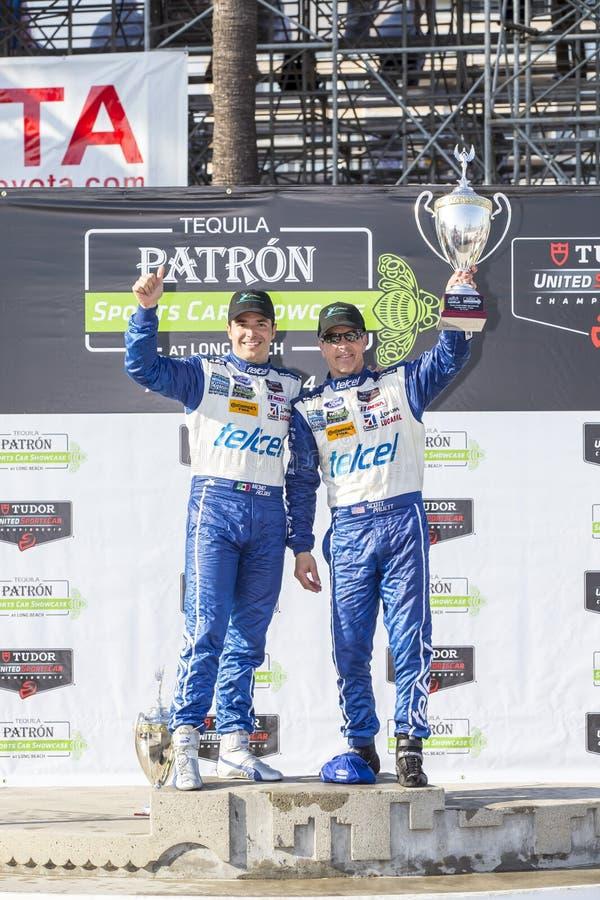 Αγώνας:  Ενωμένο πρωτάθλημα SportsCar στις 12 Απριλίου TUDOR μακριού Beac στοκ φωτογραφία