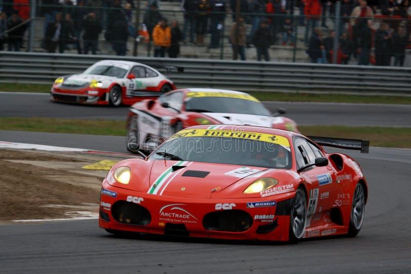 αγώνας FIA GT ferrari αυτοκινήτων f430 στοκ εικόνες με δικαίωμα ελεύθερης χρήσης