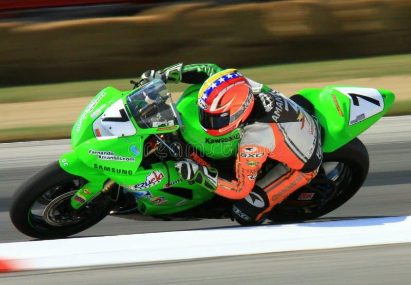 Αγώνας Kawasaki στοκ εικόνες
