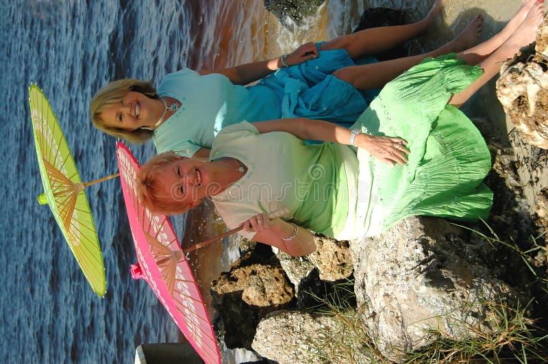 αδελφές θάλασσας στοκ εικόνα
