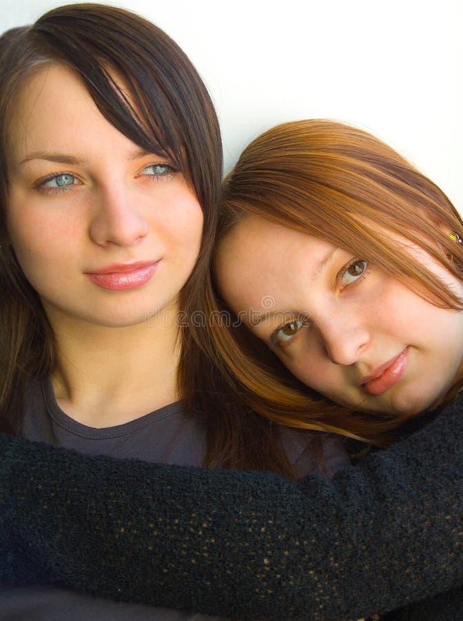 αδελφές στοκ φωτογραφία