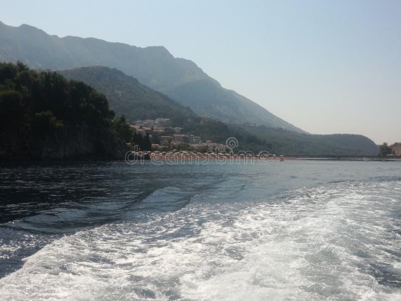 Αδριατική θάλασσα, που πλέει το καλοκαίρι στοκ φωτογραφίες με δικαίωμα ελεύθερης χρήσης