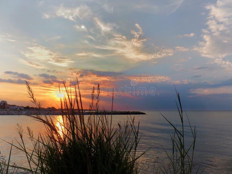 αδριατική θάλασσα στοκ φωτογραφία με δικαίωμα ελεύθερης χρήσης